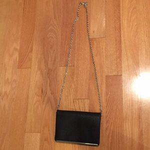 Nine West black evening bag